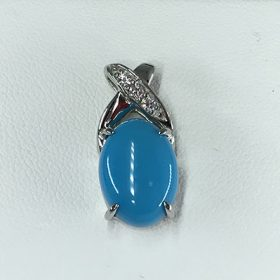 青い石 ペンダントトップ