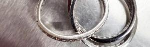 亀裂 ダイヤリング